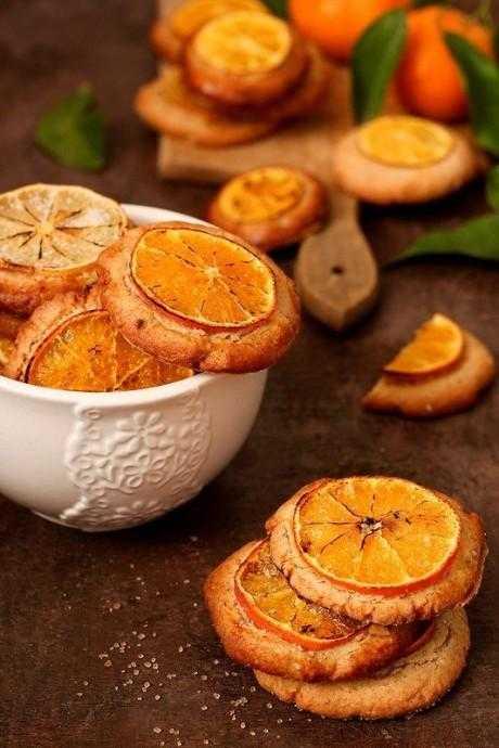 Мандариновое печенье – кулинарный рецепт