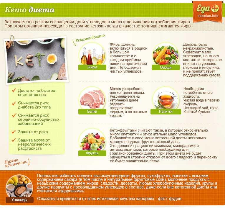 Полезная информация для худеющих о белковых продуктах