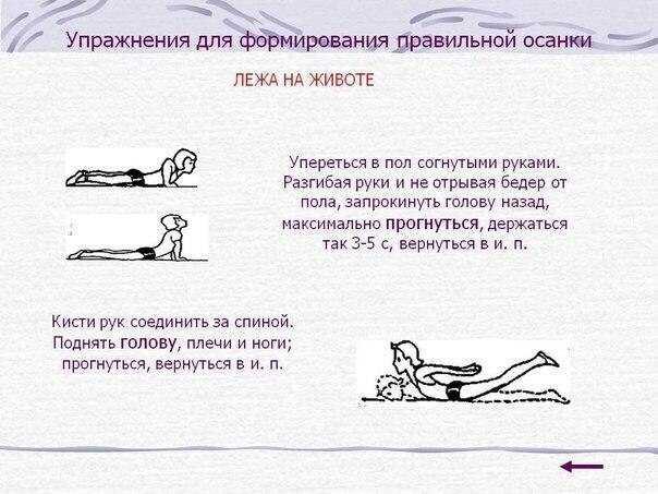 Правильная осанка – это способность поддерживать спину прямо в непринужденном состоянии Предлагаем вам отличный комплекс упражнений для исправления осанки