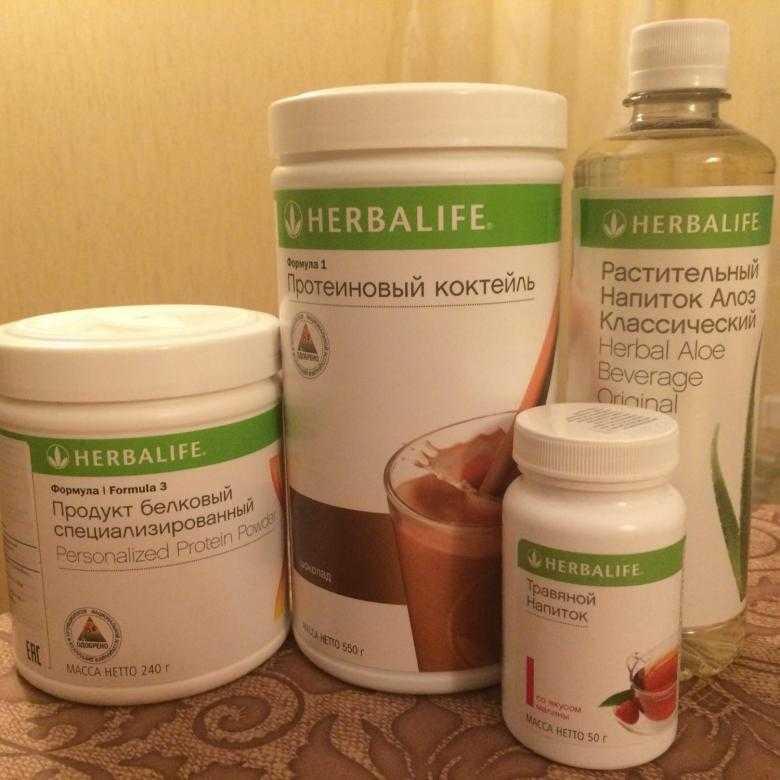Здоровое питание с «гербалайфом» для похудения