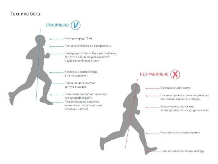 Правильная техника бега для начинающих- советы профессионалов