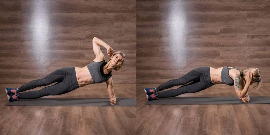Эффективные упражнения для прямой мышцы живота