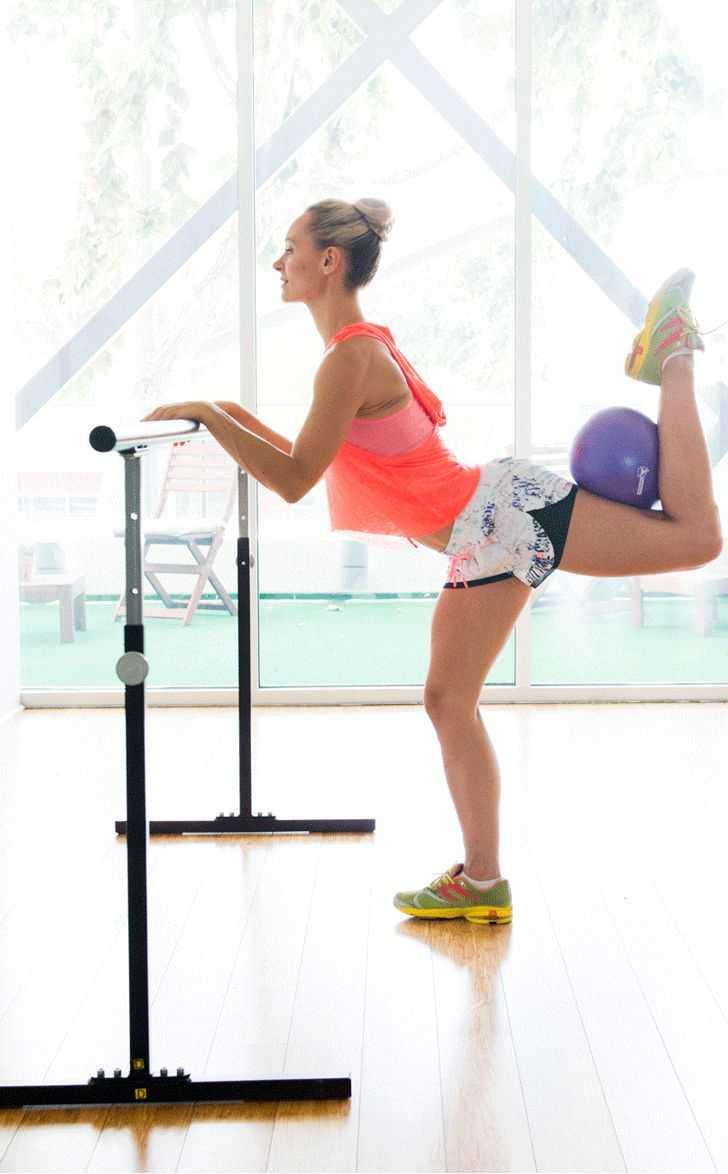 Три балетные тренировки из серии the booty barre live от трейси маллет