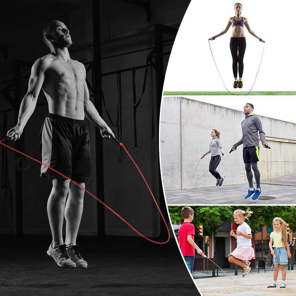 Эффективные упражнения со скакалкой для похудения