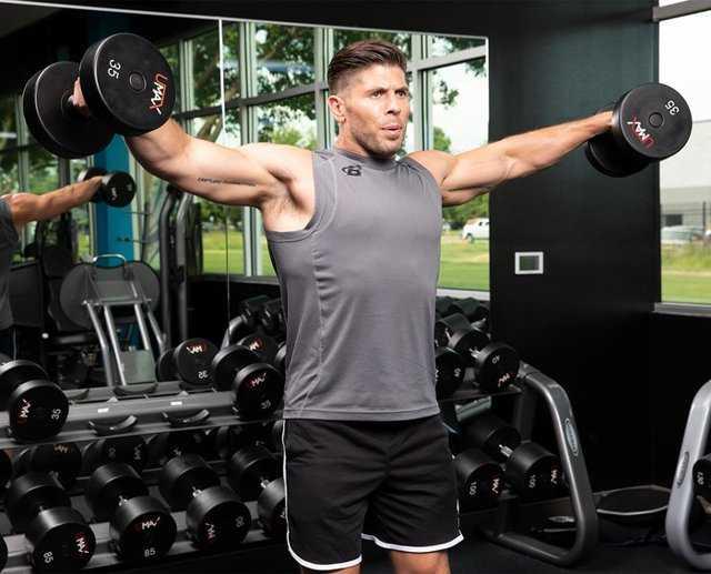 Лучшие упражнения с гантелями в домашних условиях - 105 фото и видео самых эффективных упражнений