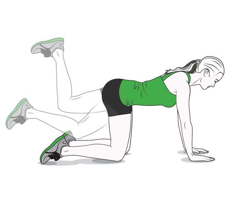 Махи ногами лежа на боку или спине - техника выполнения и какие мышцы работают