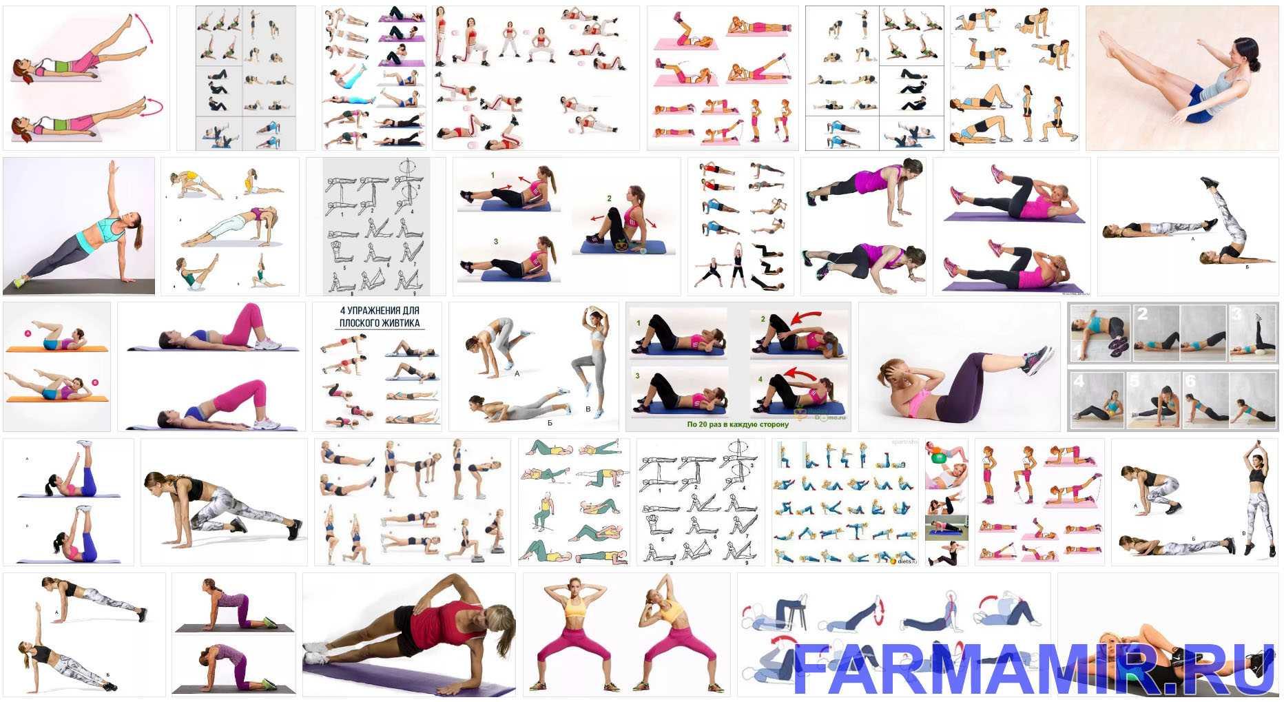 Самые эффективные упражнения для боков и живота