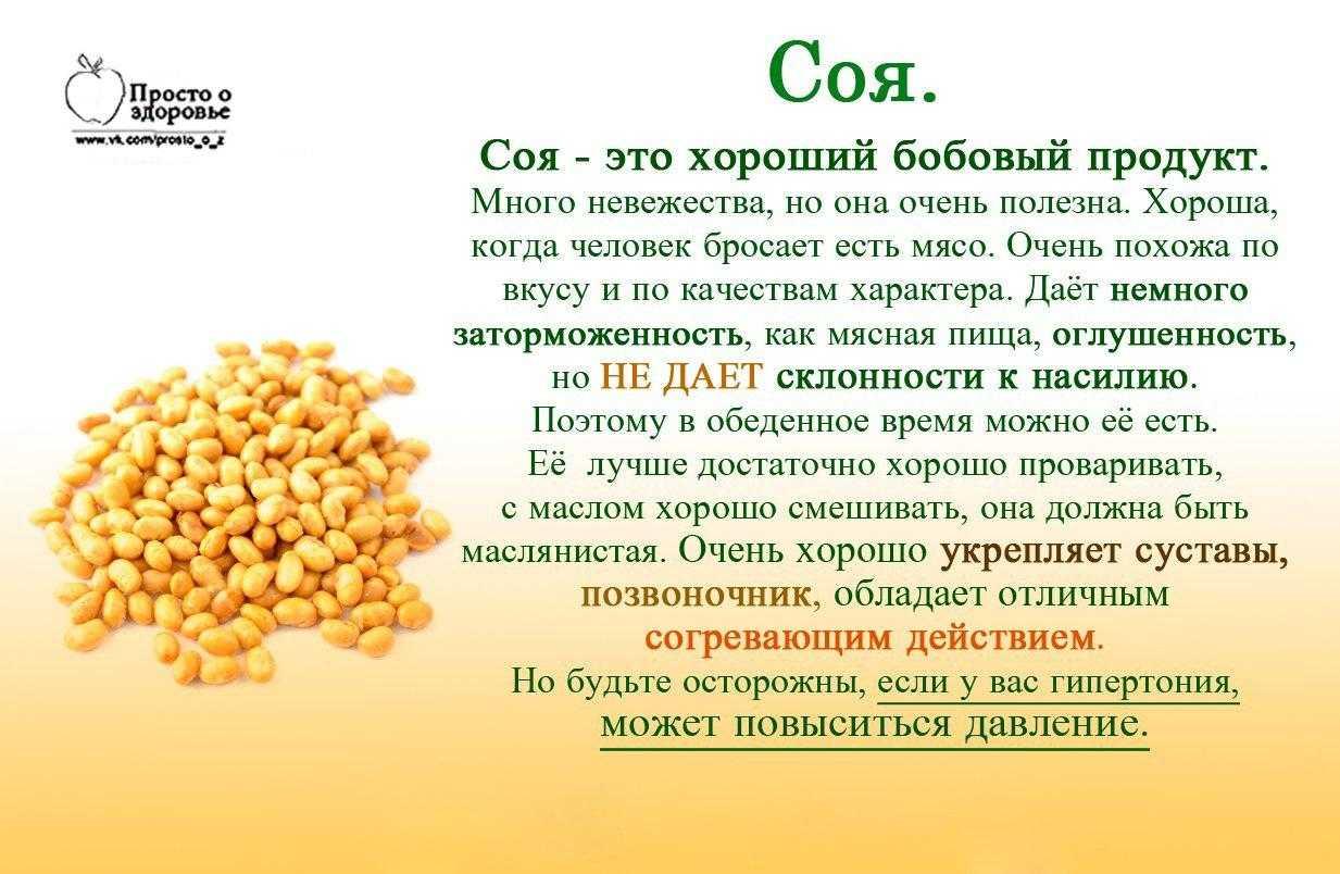 Соевый протеин рецепты - красота и здоровье