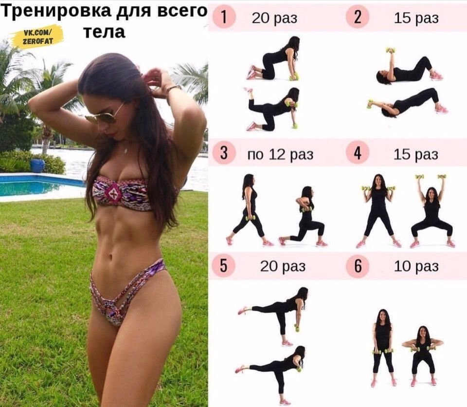 Как сделать тело упругим и подтянутым: упражнения и программа тренировок