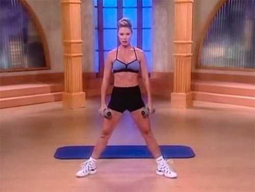 Если вы не знаете, с чего начать заниматься, попробуйте эффективную программу от Тэмили Уэбб Я хочу такое тело Вы сможете похудеть и улучшить свое тело