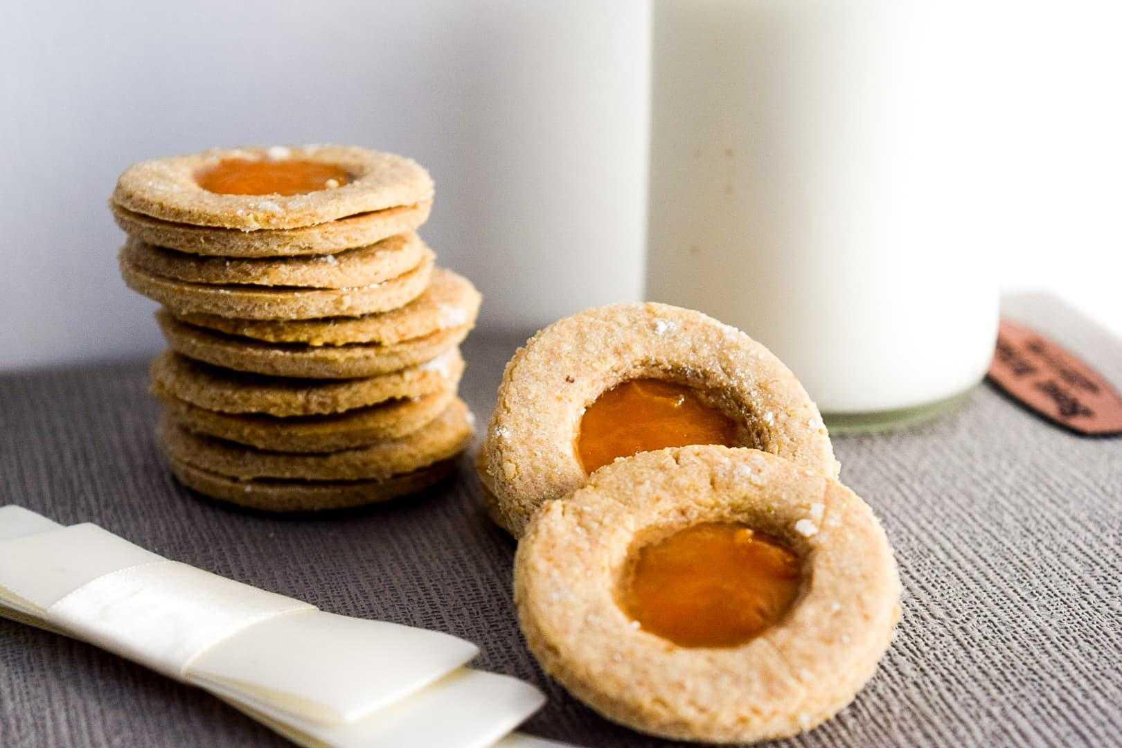 Печенье с мандариновыми корочками
