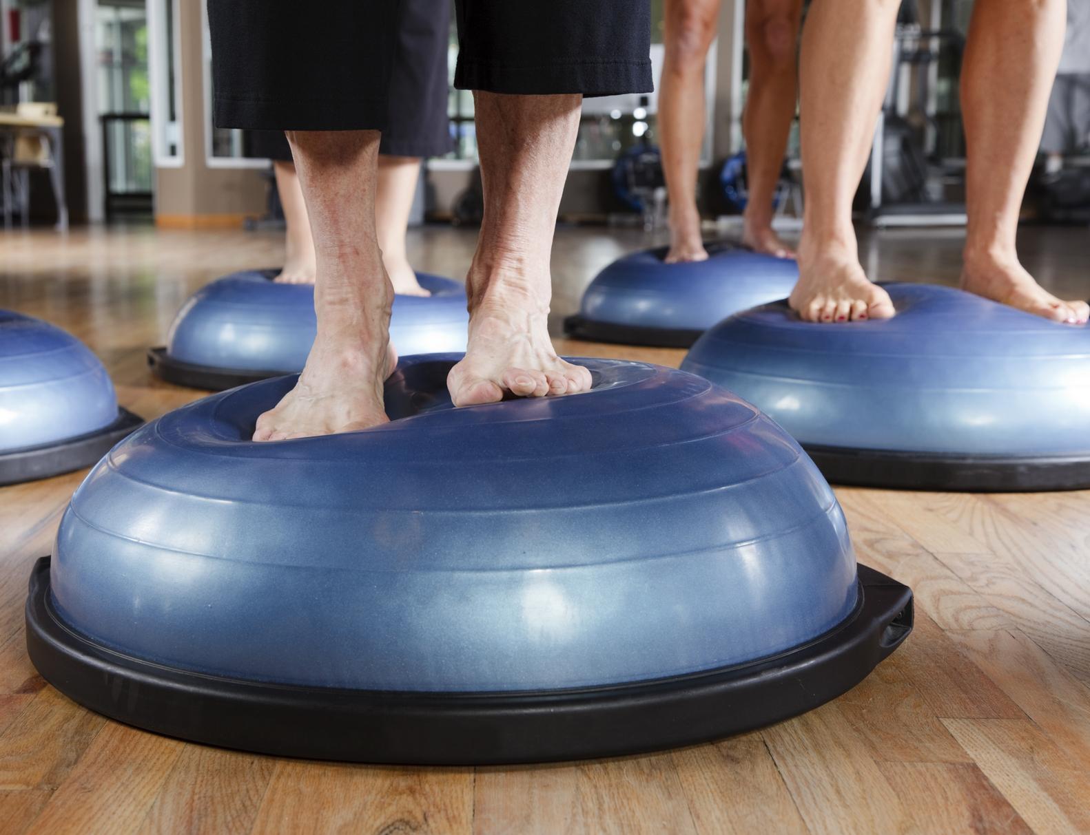 Тренировка bosu – что это такое?