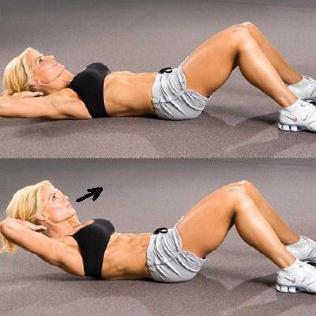 Тренировка для похудения в животе: 10 упражнений (ФОТО)