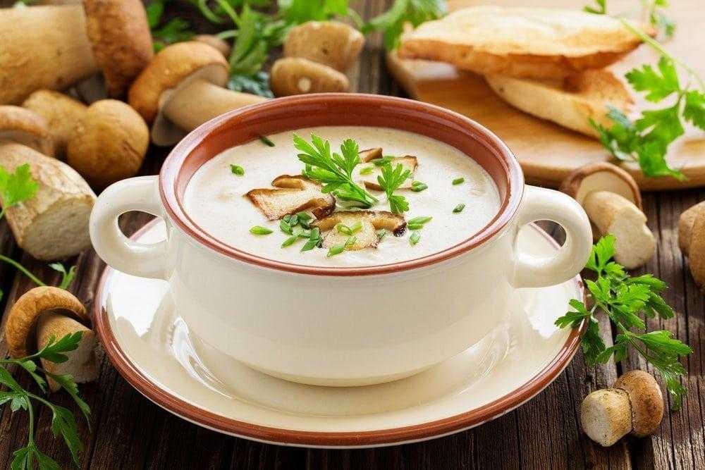 Грибной крем-суп - Рецепты интернет-журнала