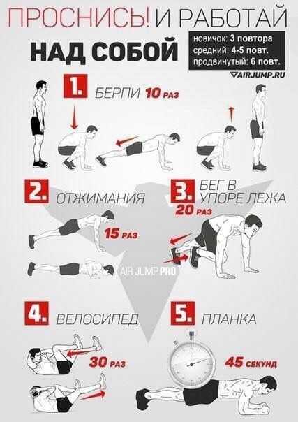 Тренировка недели: 30 минут работы в круговом формате