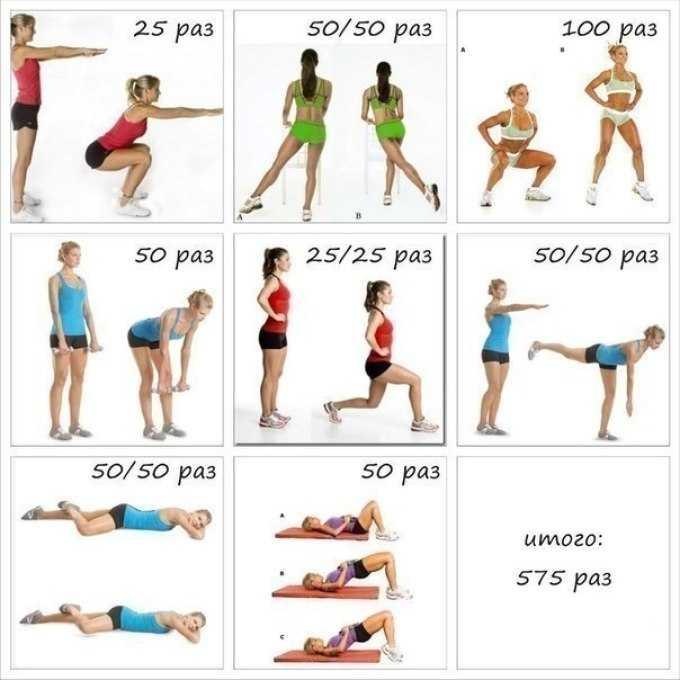 Как похудеть в ногах в домашних условиях: упражнения на икры и бедра, которые можно делать дома для быстрого похудения