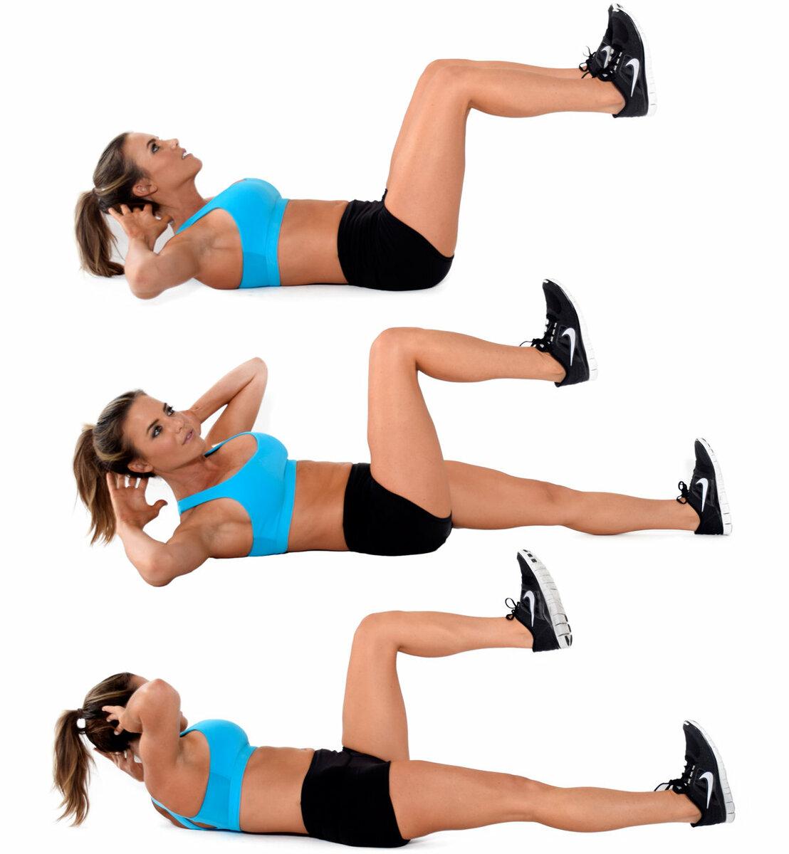 Супер комплекс из 9-ти статических упражнений для ног, ягодиц и бедер