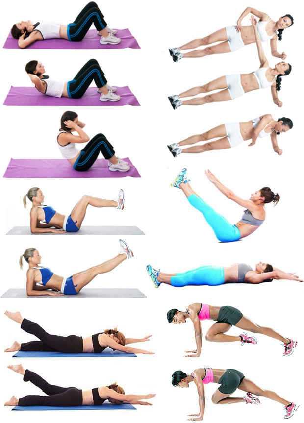 Как убрать низ живота: упражнения для мужчин и женщин
