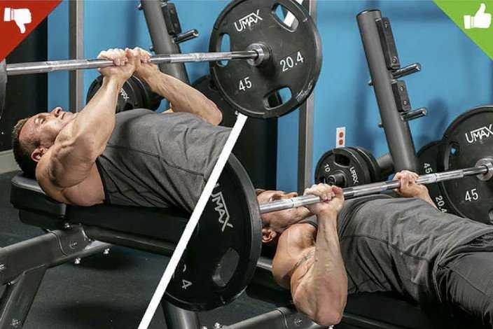 Жим в смите на наклонной скамье - какой наклон в тренажере более эффективен для прокачки грудных мышц