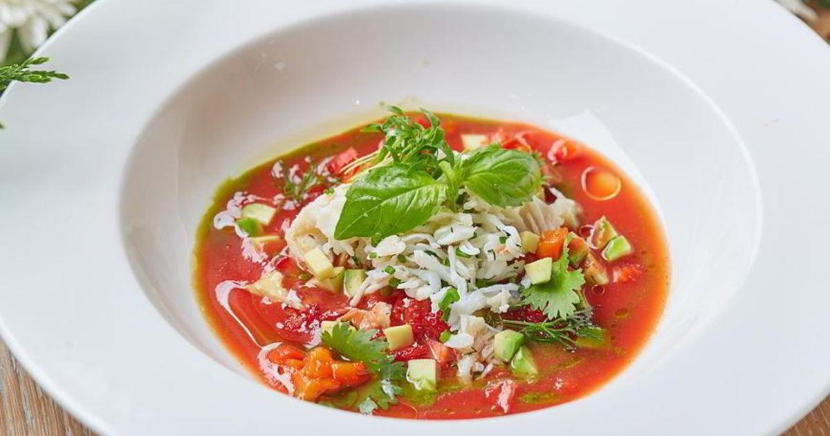 Холодный испанский суп гаспачо — легкое летнее меню