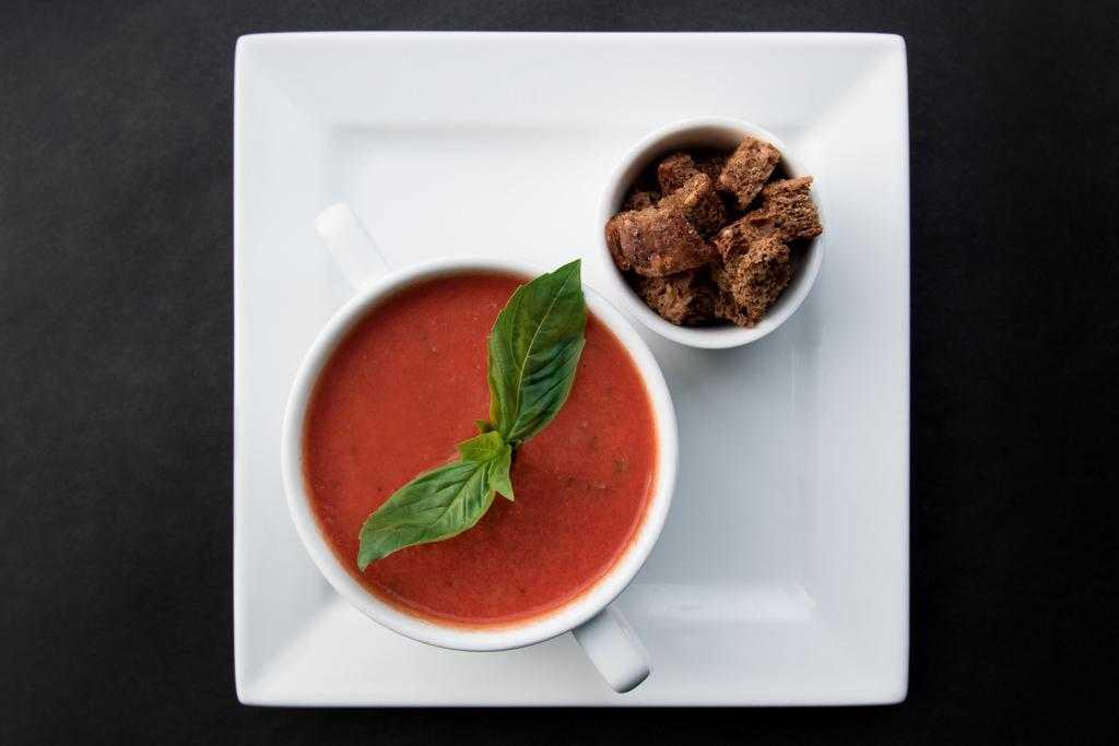 Крем-суп из тыквы «осеннее настроение»