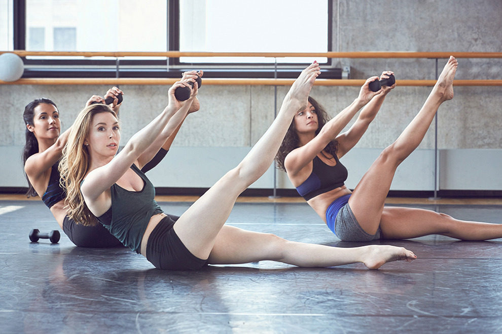 Низкоударная балетная кардио-тренировка с мари-хелен бауэрс