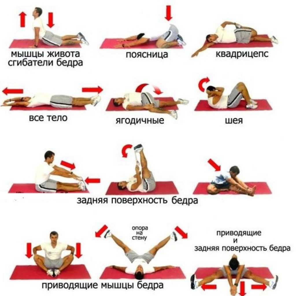 Растяжка после тренировки: 30 упражнений + 2 готовых плана на 5-10 минут