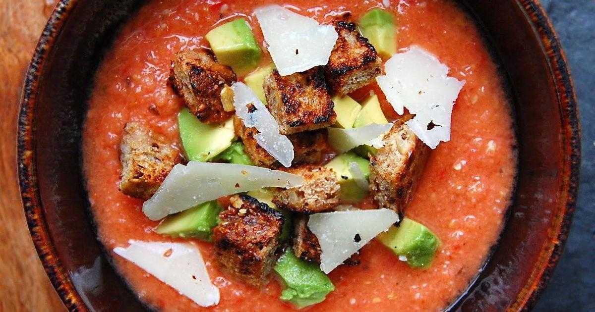 Гаспачо - холодный суп. пошаговый рецепт сергея джуренко