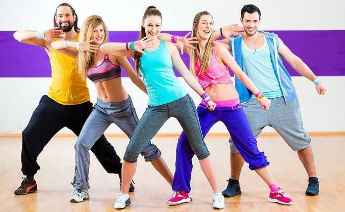 Зумба фитнес. удовольствие и польза.