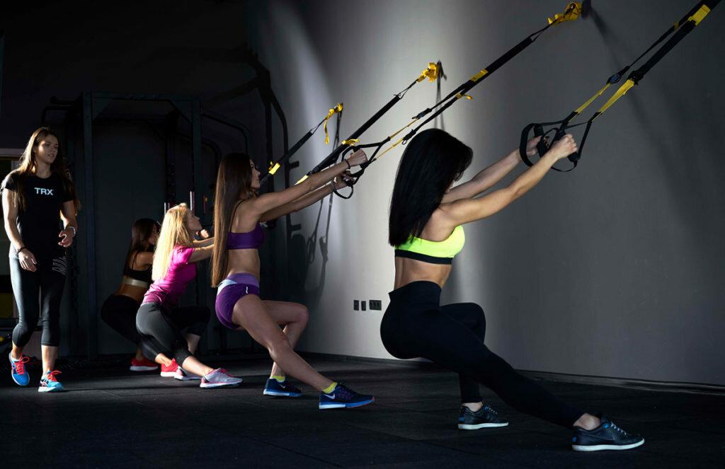 Trx упражнения, функциональные тренировки на петлях для похудения, отзывы - похудейкина