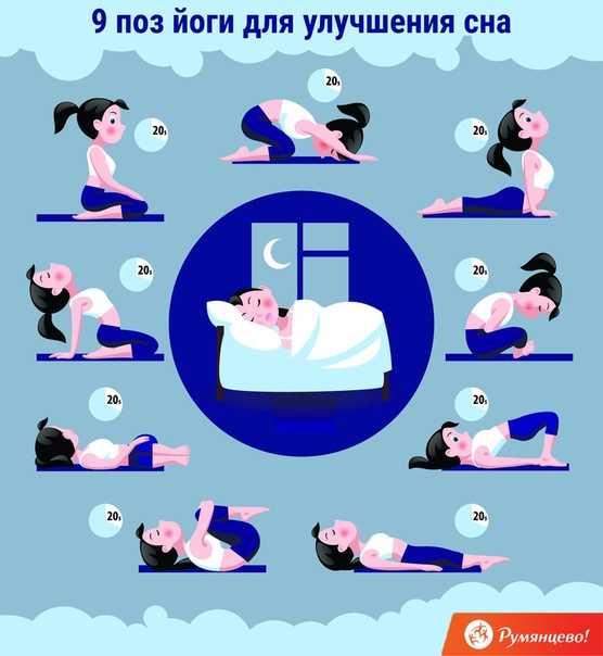 Йога перед сном: вечерний комплекс для начинающих от бессонницы