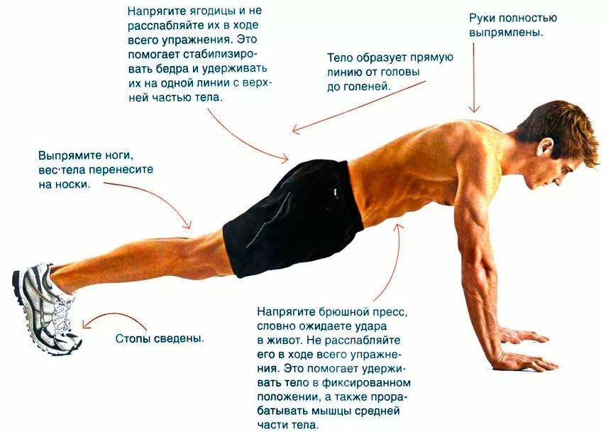 Отжимания без ног или горизонт – супер упражнение