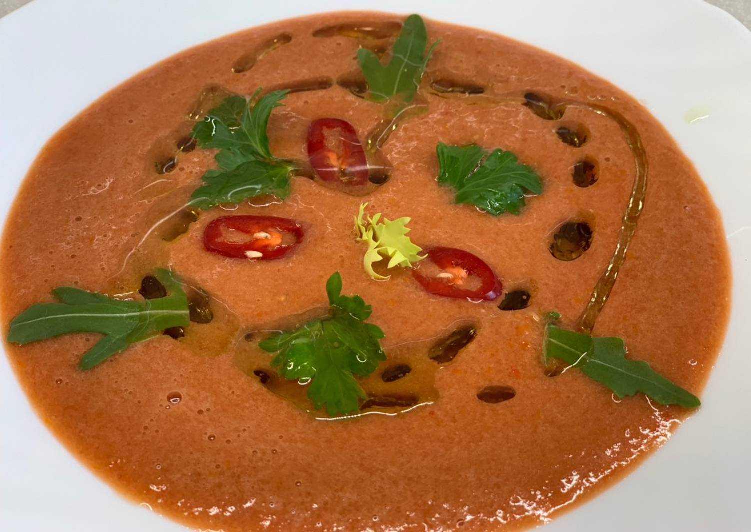 Гаспачо – классический рецепт традиционного испанского супа из свежих томатов