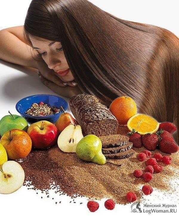 Продукты для волос: полезная пища для кожи головы и волос, правильное питание, укрепление и восстановление