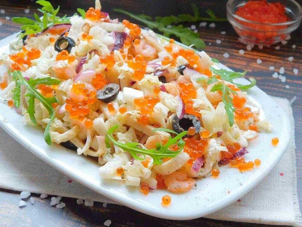Салат морской бриз: рецепты с фото, очень вкусные