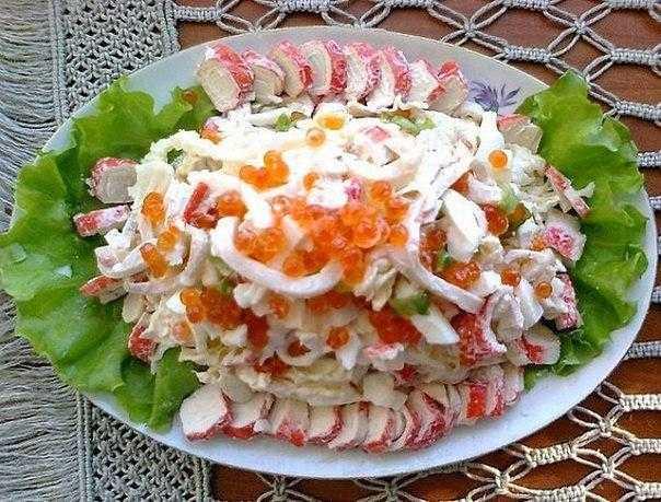"""Салат """"морской бриз"""" с креветками"""
