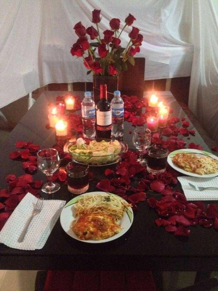Романтический ужин, как все правильно подготовить