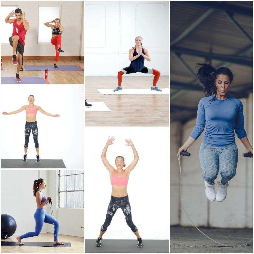 Предлагаем вам план тренировок для похудения в домашних условиях на 3 дня: без прыжков, без инвентаря, для укрепления мышц всего тела (с готовыми гифками)