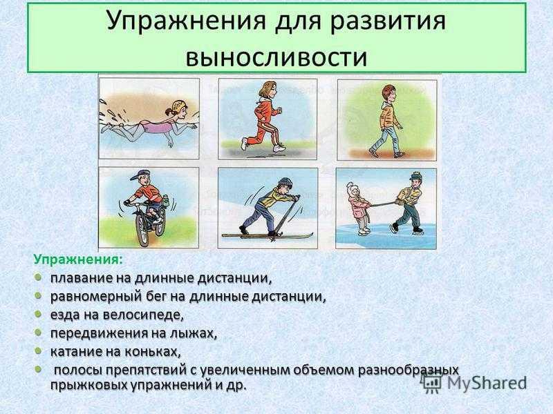 Упражнения на развитие выносливости в домашних условиях