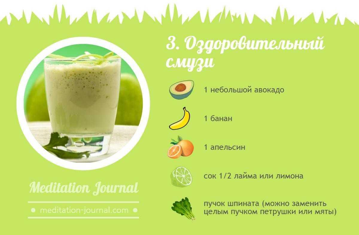Смузи для похудения, эффективность, рецепты из фруктов, овощей и ягод, противопоказания