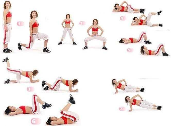 Топ-25 упражнений для ягодиц без приседаний и выпадов