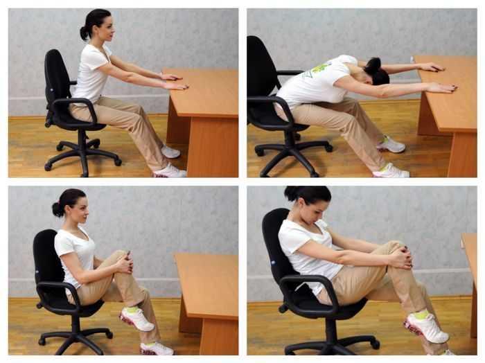 Фитнес за рабочим столом: 5 эффективных упражнений для разминки в офисе, гимнастика и фитнес в офисе, зарядка