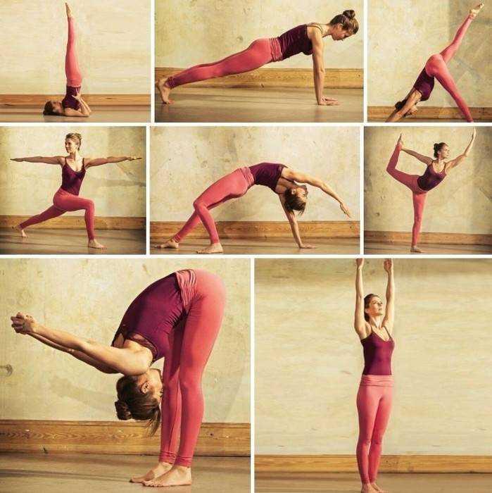 Асаны для начинающих, 31 упражнение