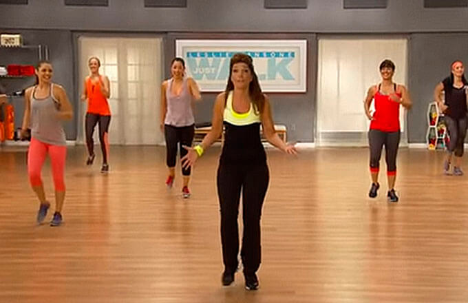 Быстрая ходьба с лесли 1 миля. быстрая ходьба с лесли сансон: 5 тренировок по 1 миле   фитнес для похудения
