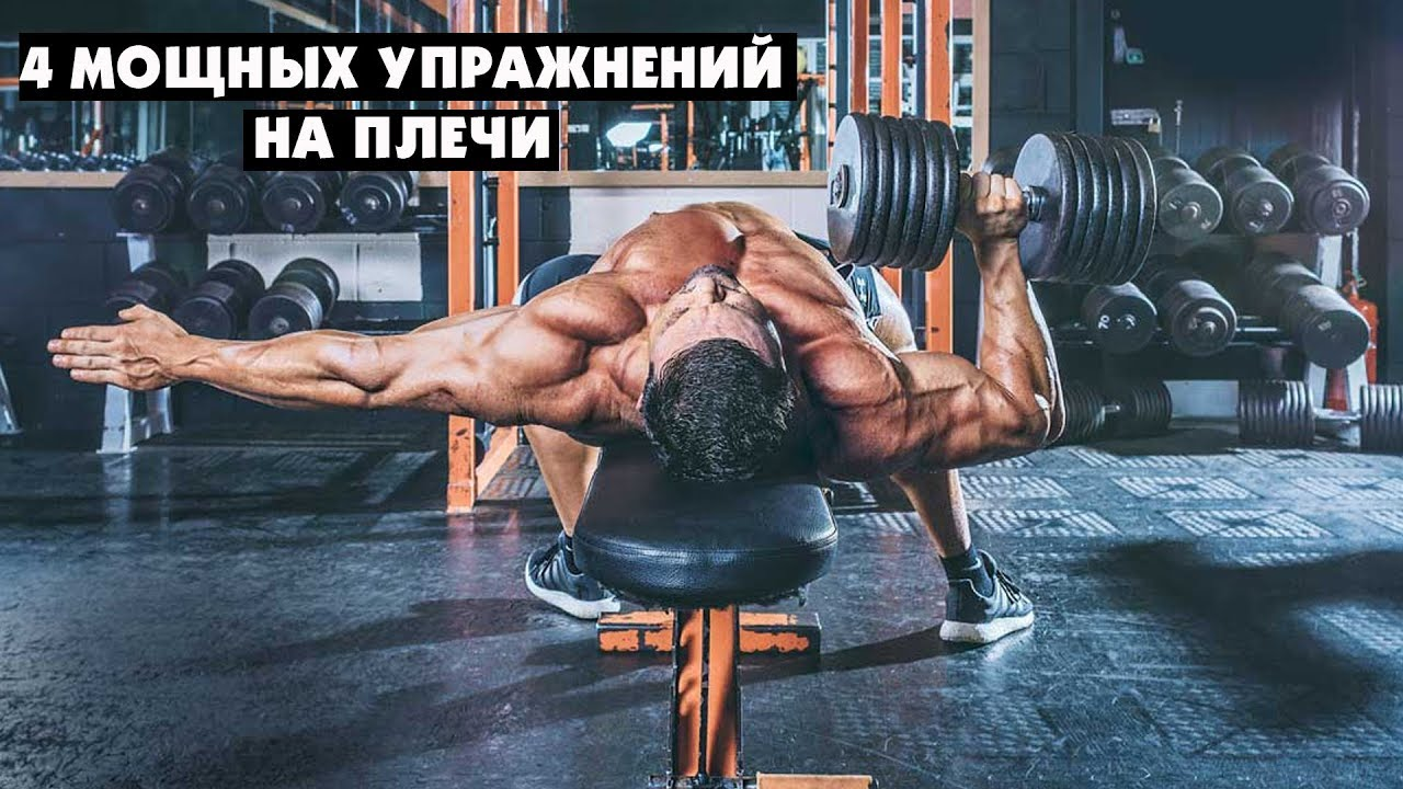 Базовые и изолирующие упражнения на трицепс