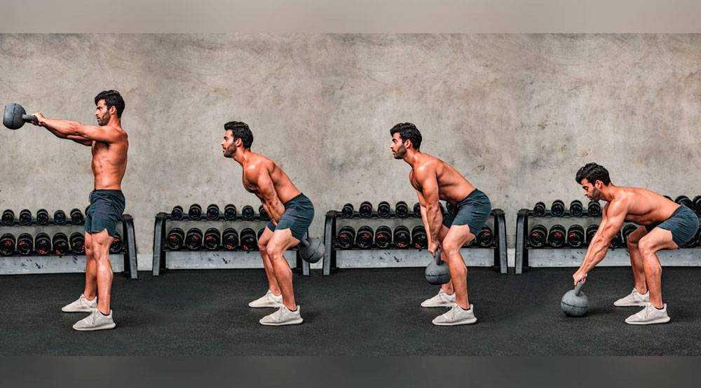 Тренировки с гирей: топ-21 cамых эффективных упражнений