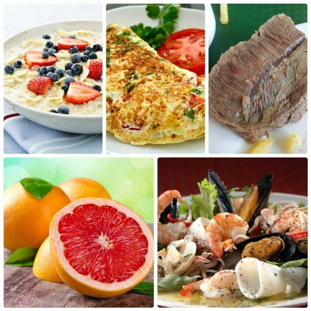 Белковая диета для похудения: суть, меню, рецепты