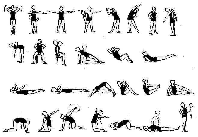 Лечебная гимнастика при остеохондрозе шейного отдела позвоночника: самые эффективные упражнения