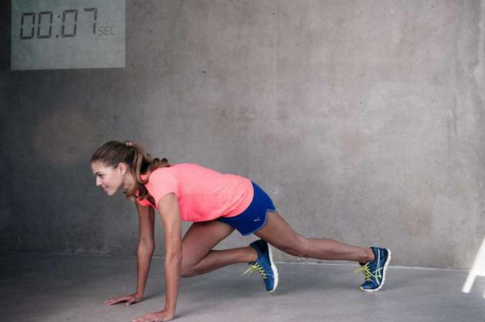 Табата — короткие тренировки для похудения