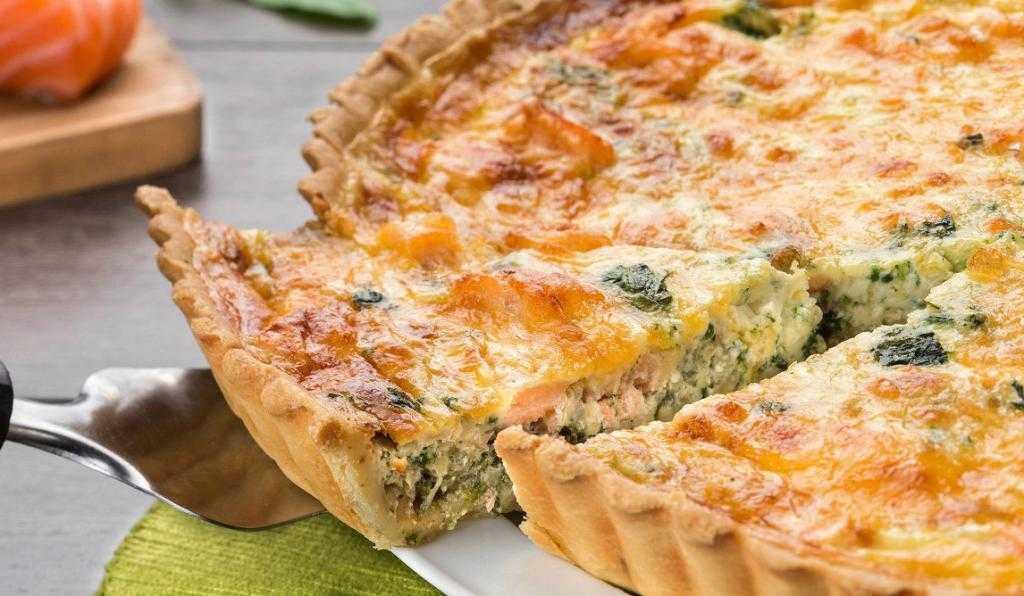 Пирог с семгой – кулинарный рецепт